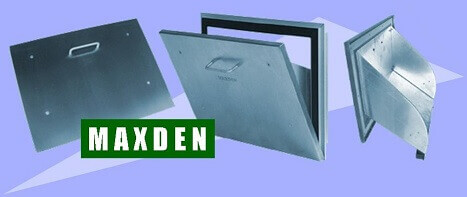 MAXDEN Seals Stainless steel Rubbish Chute Hopper seal out Roaches